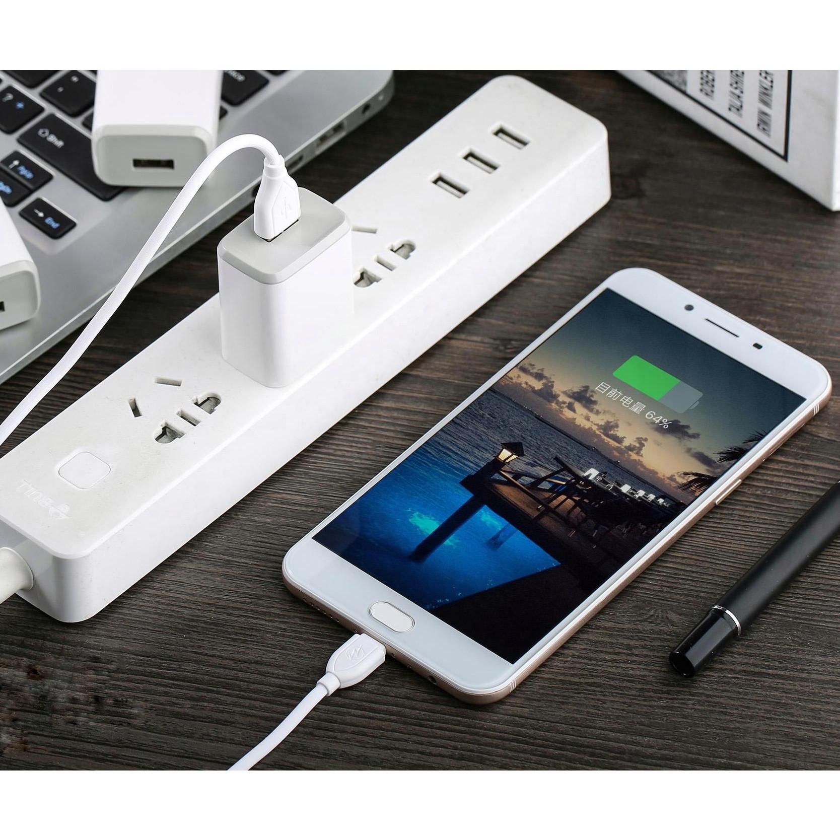 Bộ củ và cáp sạc nhanh iphone 2.4A, Sạc được IPAD