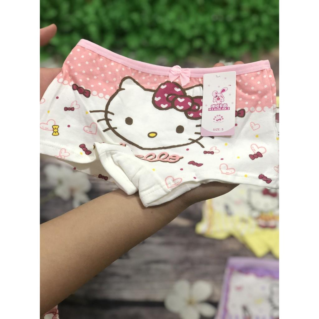 Quần Chip Đùi Họa Tiết Mèo KT Cho Bé