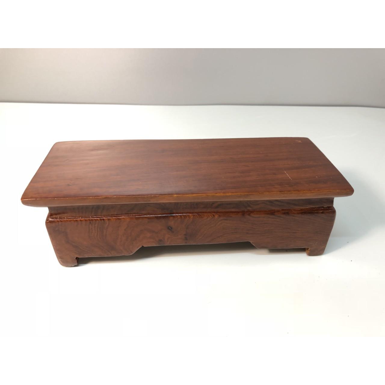 Đế gỗ hương - 8x20x6 cm