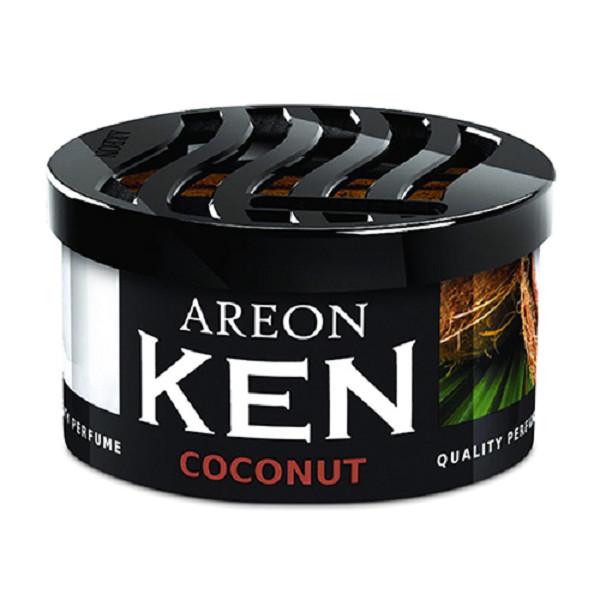 Sáp thơm ô tô Areon Ken Coconut (Hương Dừa)