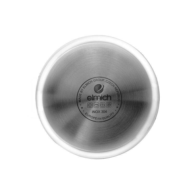 Bộ nồi inox 3 lớp đáy liền Elmich 2103OL size 18,20,26cm