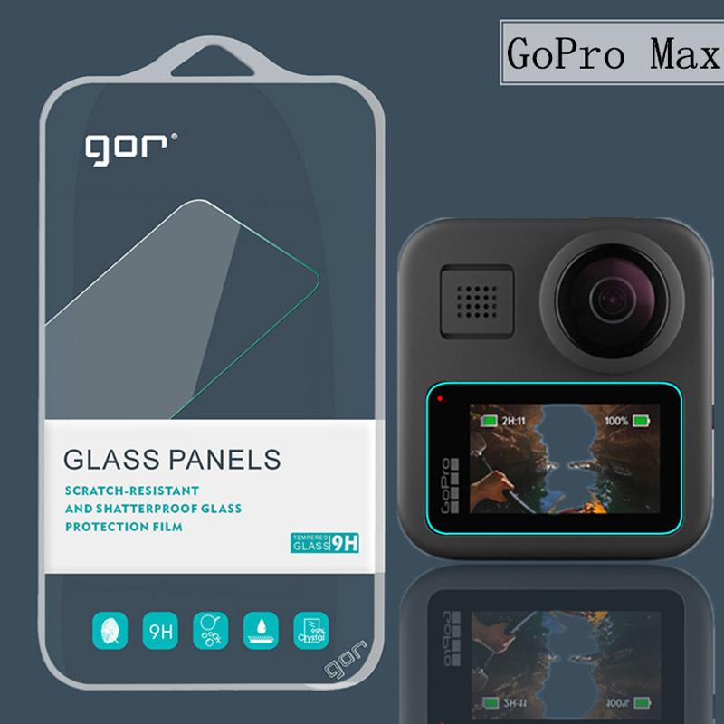 Dán màn hình cường lực Gopro Max GOR (Hộp 2 miếng) - hàng nhập khẩu