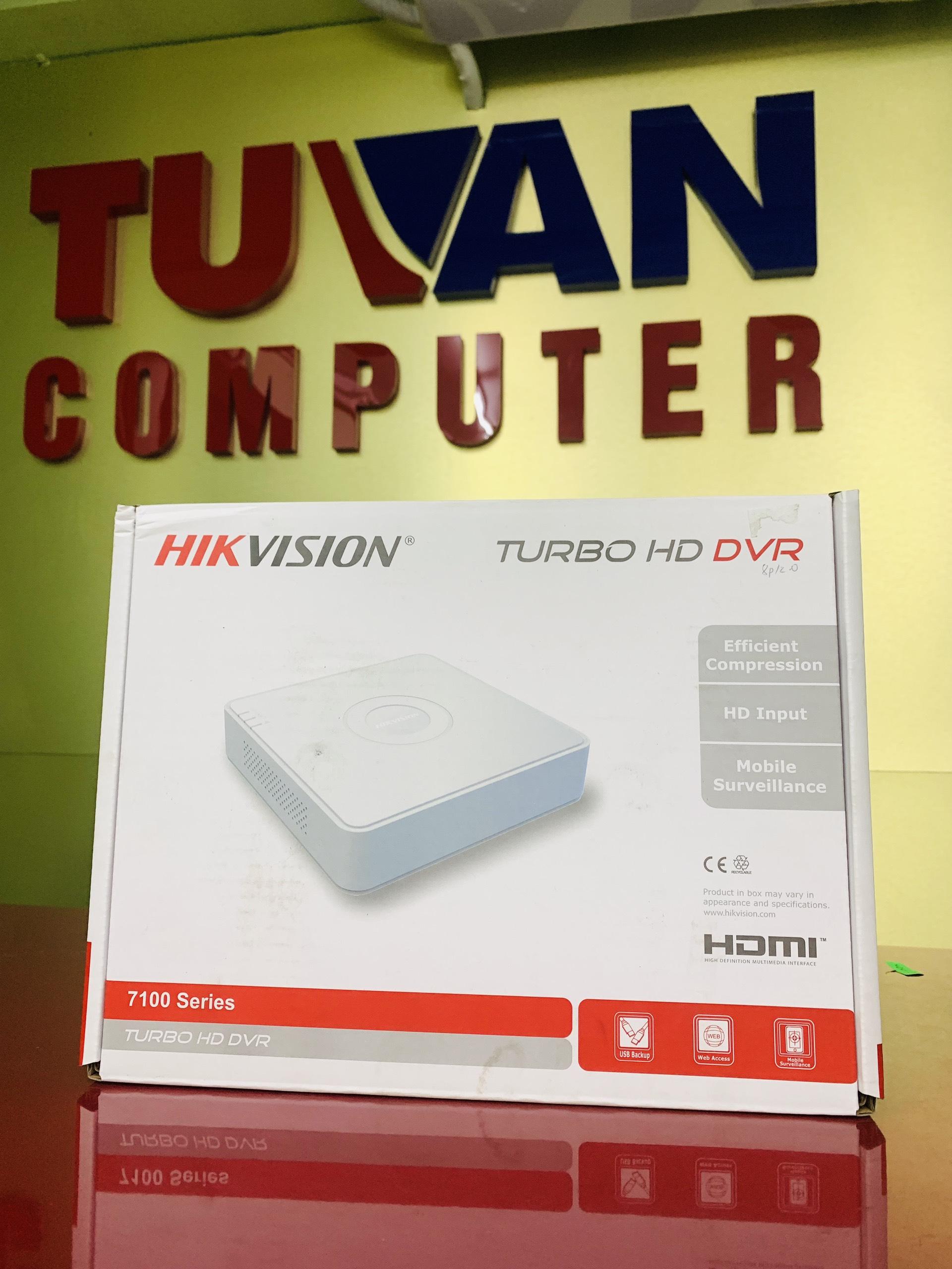 Đầu ghi hình camera Hikvision 4 port 2.0