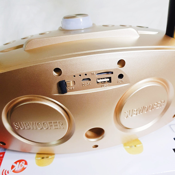 Mic Đôi Hát Karaoke Loa Bluetooth SD 306 - Mic Hát Karaoke Gia Đình