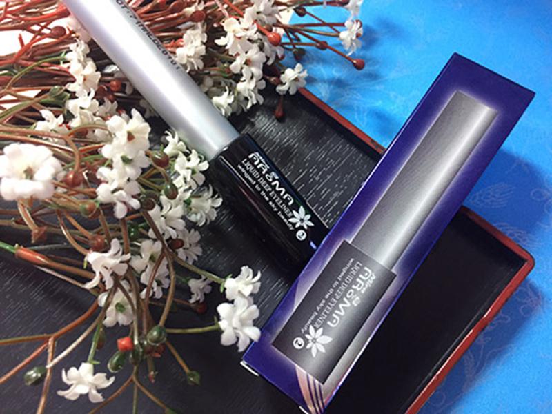 Kẻ mắt nước Mira Aroma Liquid Eyeliner Hàn Quốc 7ml tặng kèm móc khoá