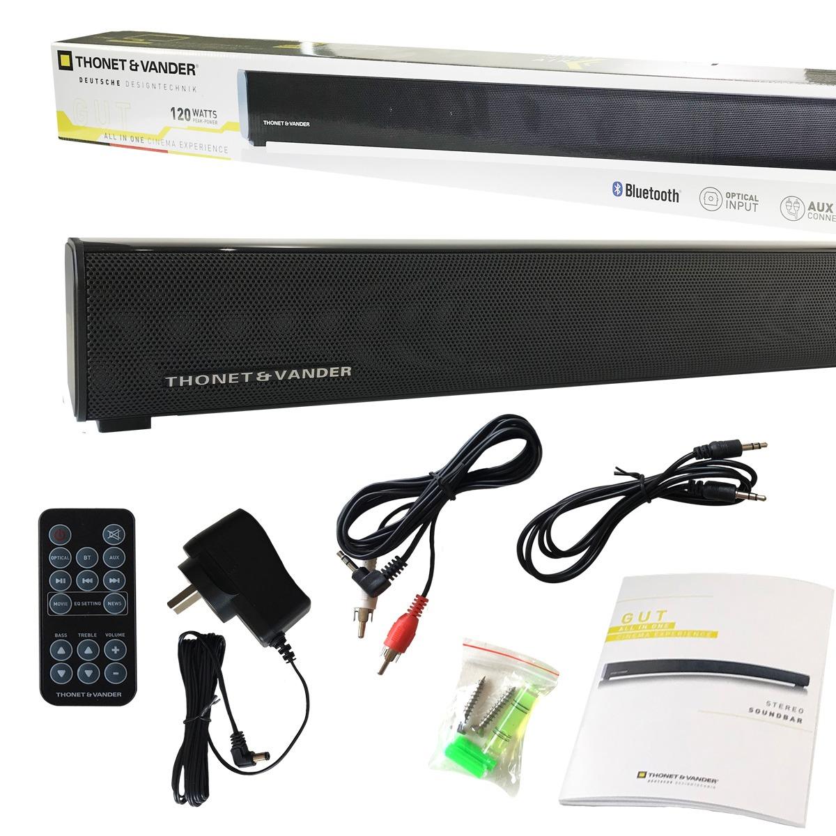 Loa Bluetooth Thonet & Vander SOUNDBAR GUT Hàng chính hãng
