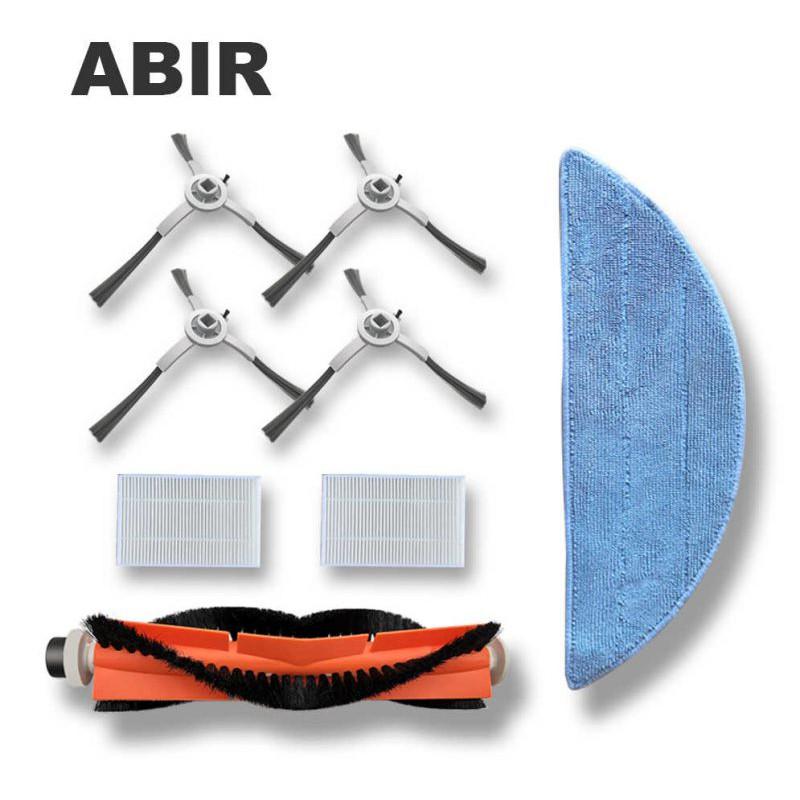 Bộ 2 chổi cạnh thay thế - Phụ kiện Robot hút bụi thông minh ABIR X6/X8 - Hàng chính hãng