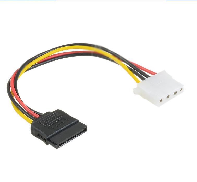 Cáp chuyển nguồn 4 pin ra đầu nguồn SATA