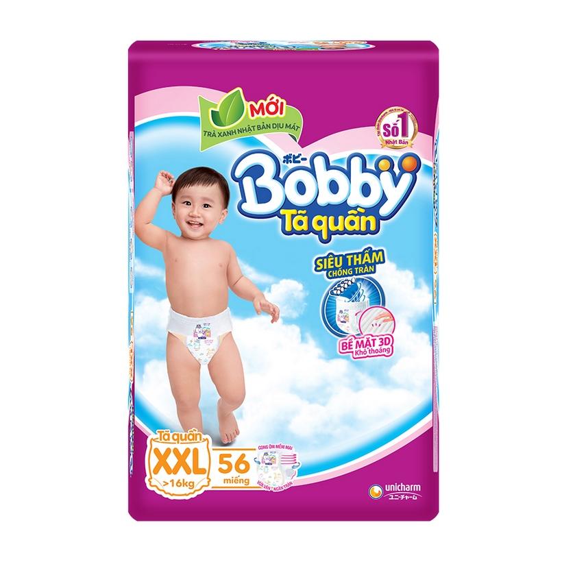 Tã Quần Bobby Fresh Siêu Thoáng  - XXL56