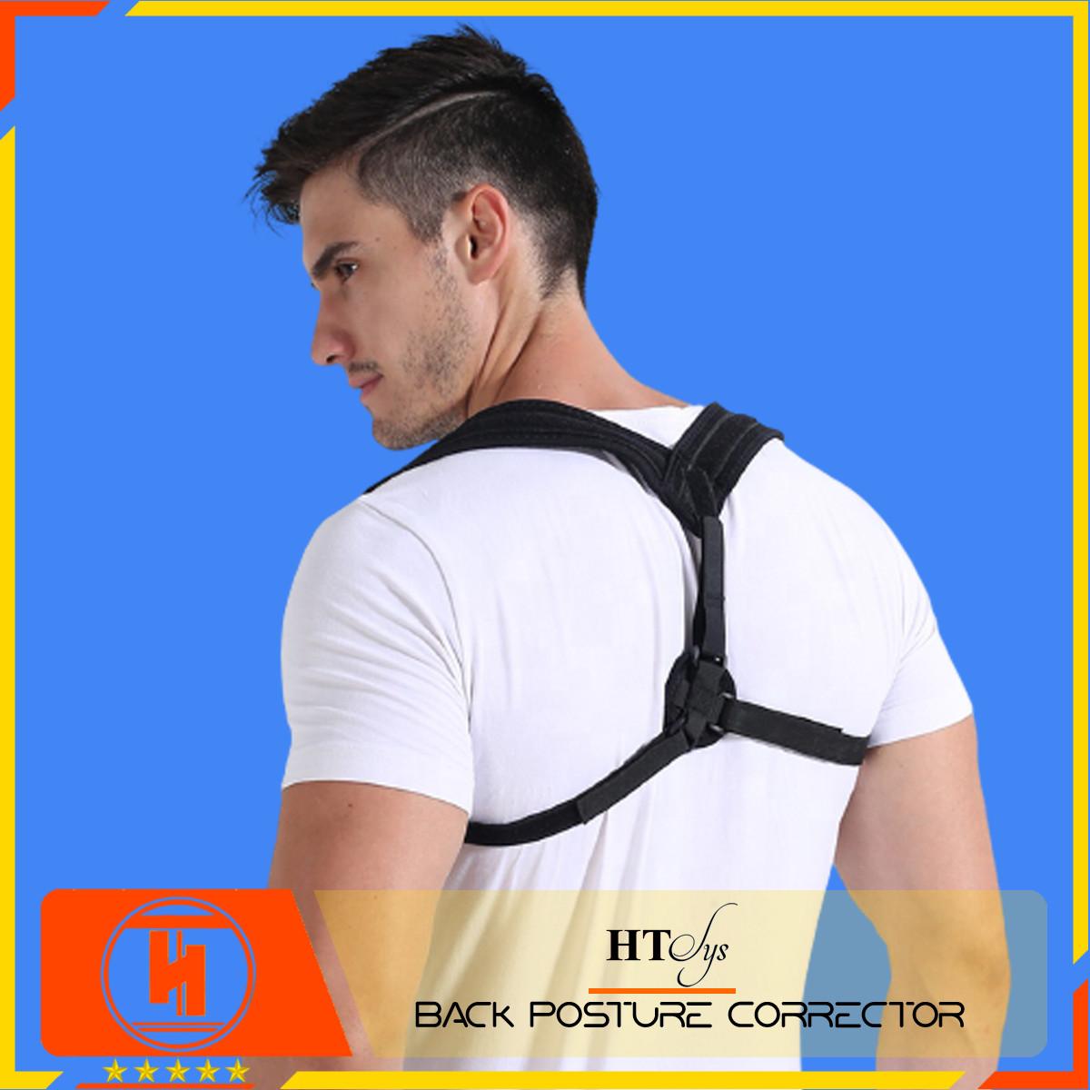 Đai chống gù lưng nam nữ HT SYS Back Posture Corrector- Giúp định hình cột sống - Điều chỉnh tư thế của lưng - Phù Hợp Với Mọi Độ Tuổi - Chữa Hiệu Quả Chứng Gù Lưng, Lưng Tôm, Cong Vẹo Cột Sống