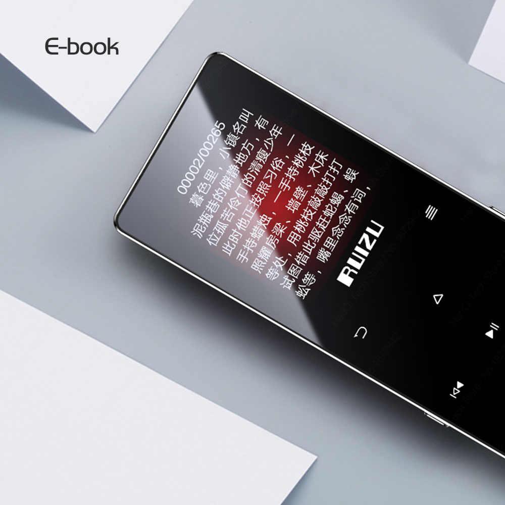 Máy Nghe Nhạc MP3, Lossless, FM, Ruizu D28 (4GB) - Hàng Chính Hãng