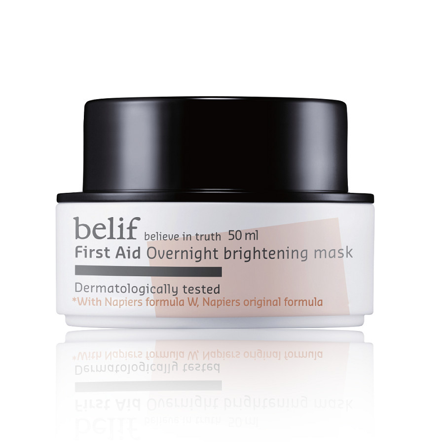 Mặt nạ ngủ dưỡng trắng Belif First Aid Overnight Brightening Mask 50ml