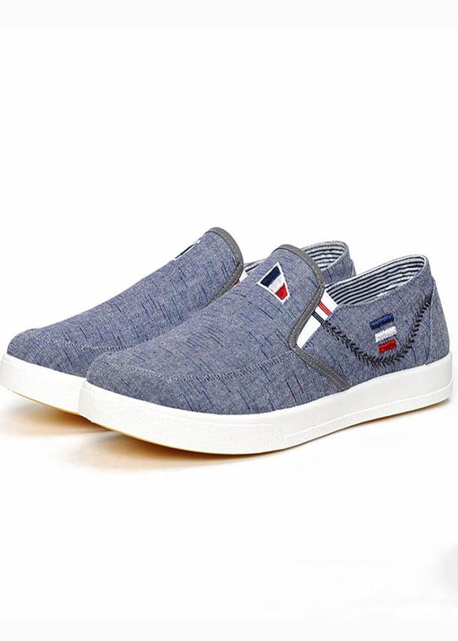 Giày Sneaker Nam Kiểu Dáng Thể Thao Năng Động - Màu Xanh Navy - TN11
