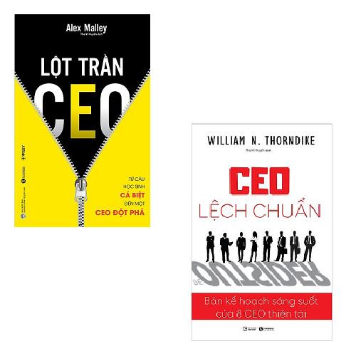 Bộ sách sự thật về CEO: Lột Trần CEO - CEO Lệch Chuẩn