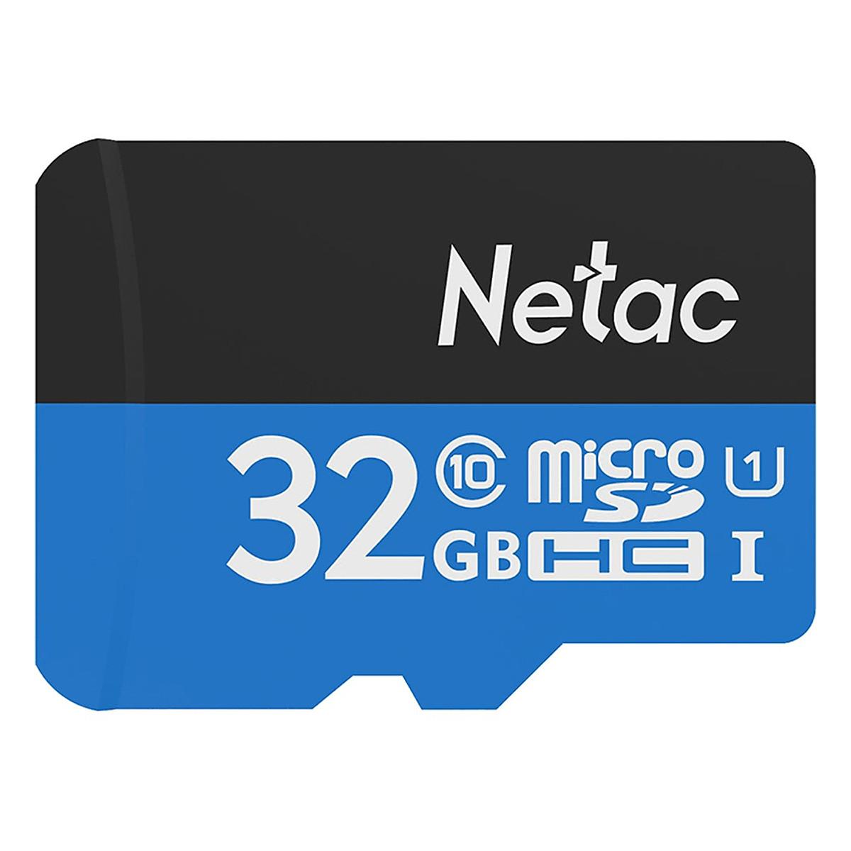 Thẻ Nhớ Netac  32GB - Hàng chính hãng