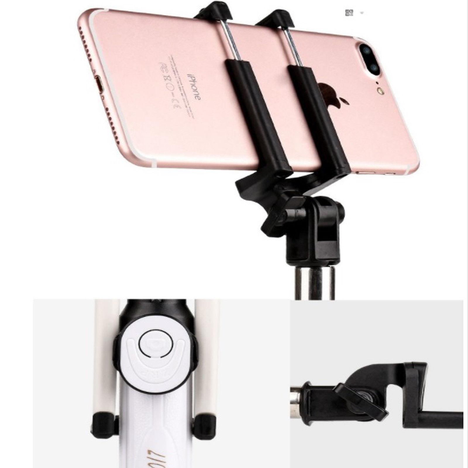 Gậy chụp hình tự sướng Selfie tripod bluetooth 28 kèm remote - Hàng Chính Hãng