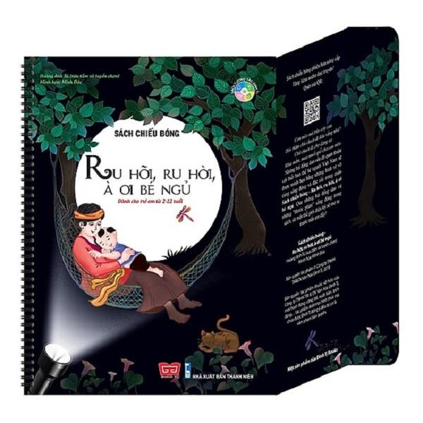 Cuốn sách mang lại những thước phim sống động cho bé: Sách Chiếu Bóng - Ru Hỡi, Ru Hời, À Ơi Bé Ngủ