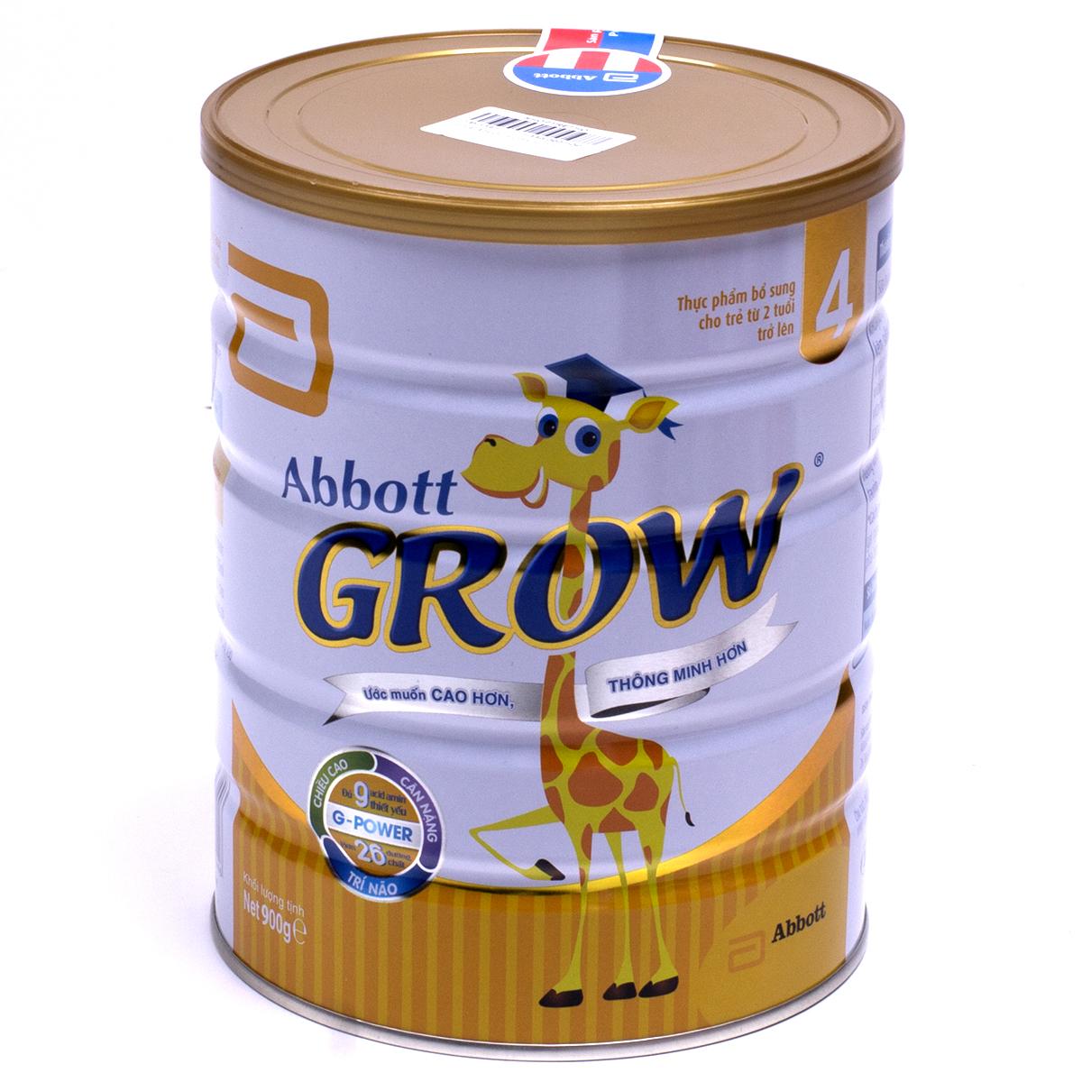 Sữa bột Abbott Grow 4 900g