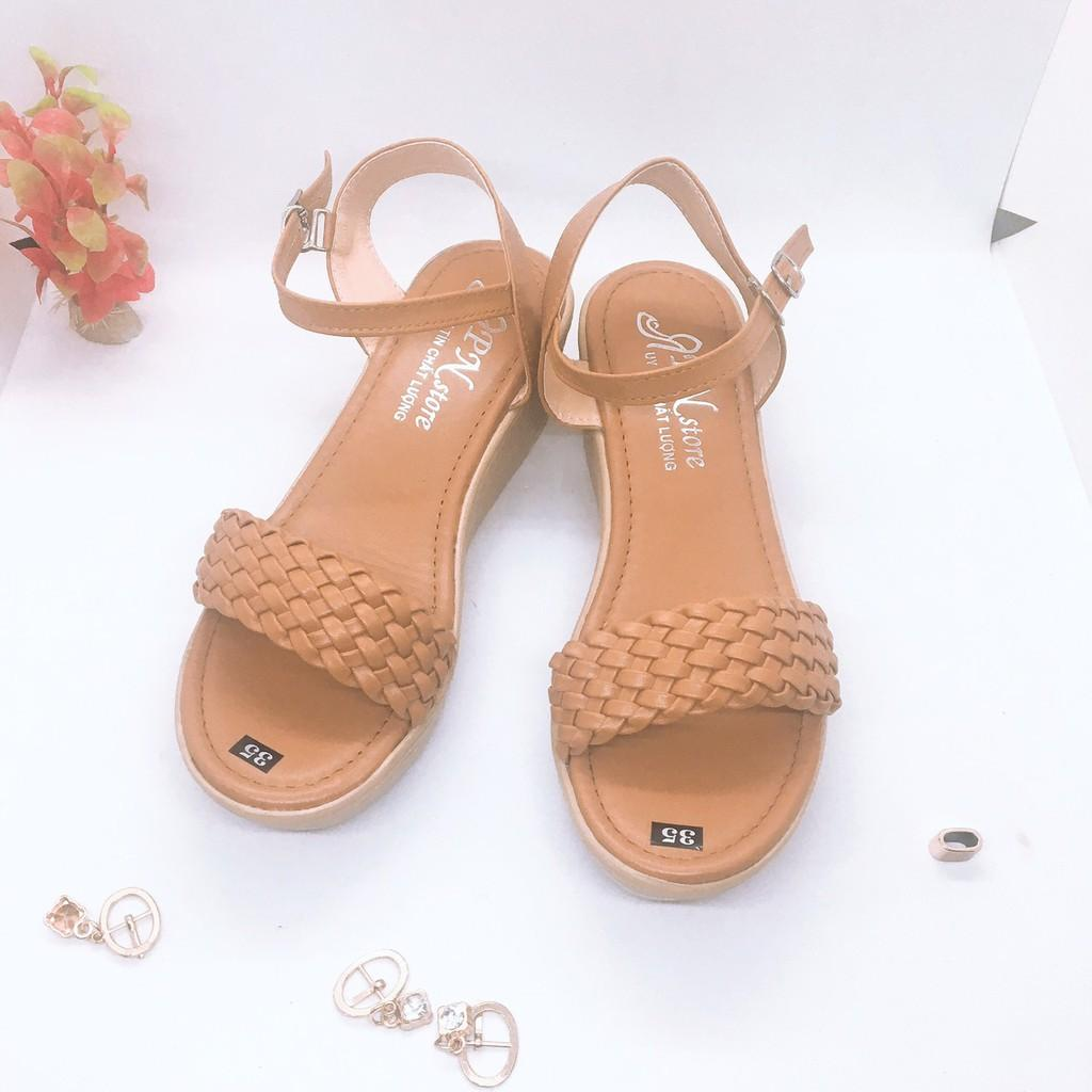 Giày Cao Gót Đế Xuồng 5p Quai Bính __LZ160