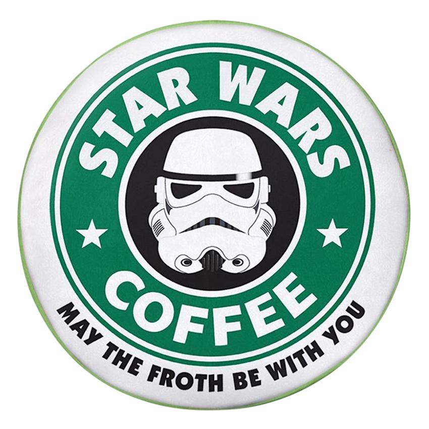 Gối Ôm Tròn Star Wars Coffee - GOZTE072