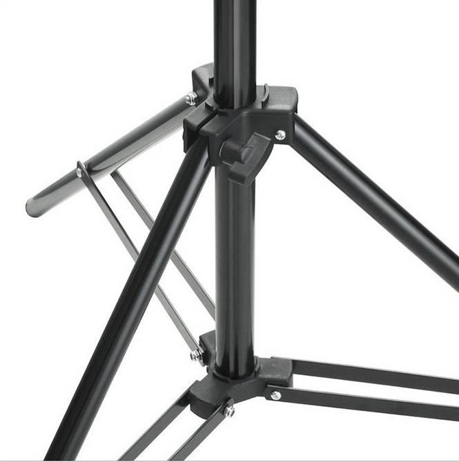 Chân đèn 2.3M hợp kim nhôm, ống 25mm