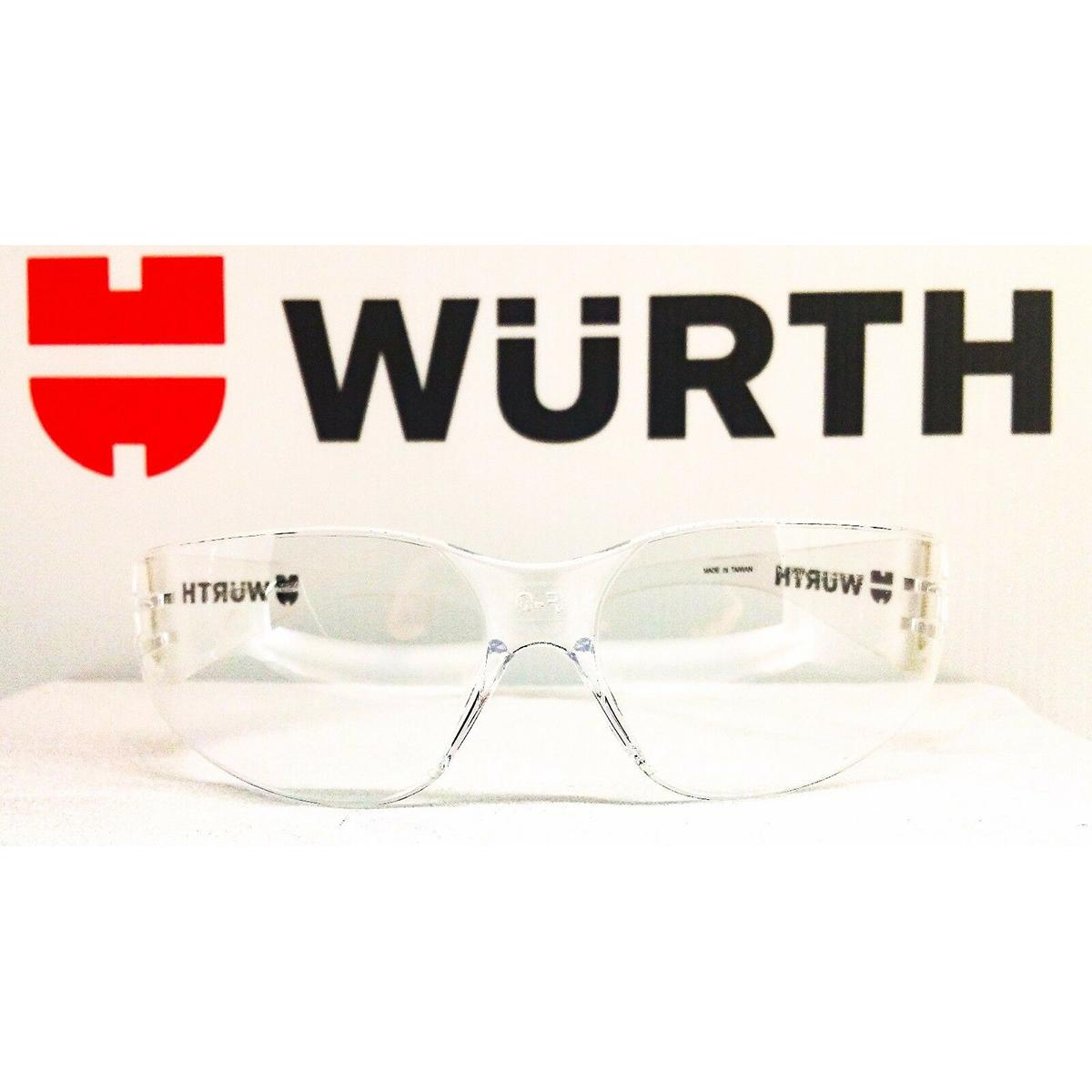 Kính Bảo Hộ Lao Động Wurth Standard Trong Suốt 0899103120