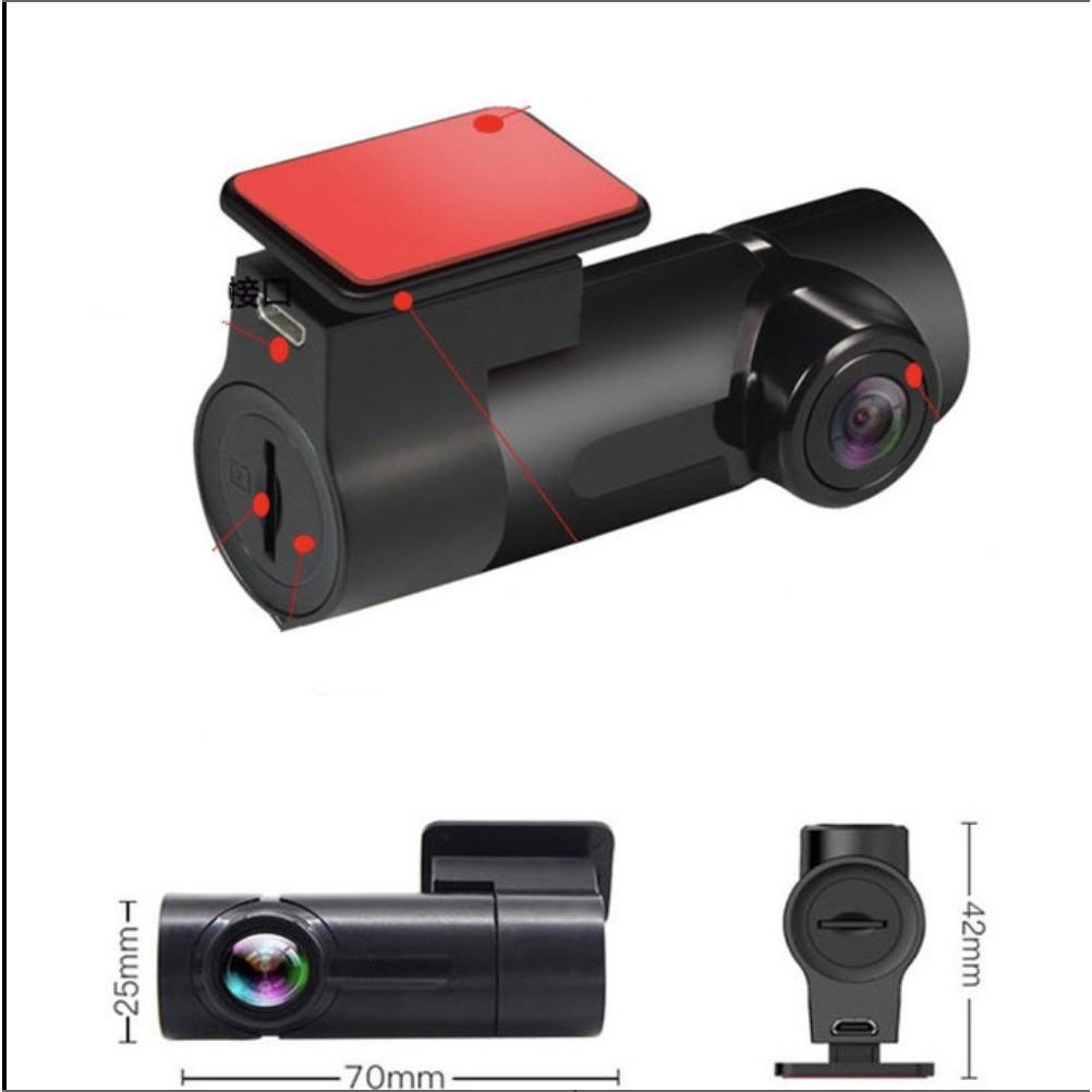 Camera Hành Trình cho Ô Tô quay Siêu Nét 1080p dùng qua App Wifi