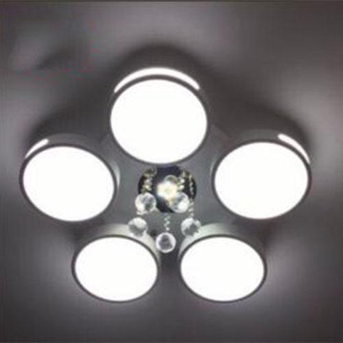 Đèn ốp trần Led CIRCLE hiện đại 3 màu ánh sáng có điều khiển từ xa dùng cho trang trí nhà cửa, quán cafe...