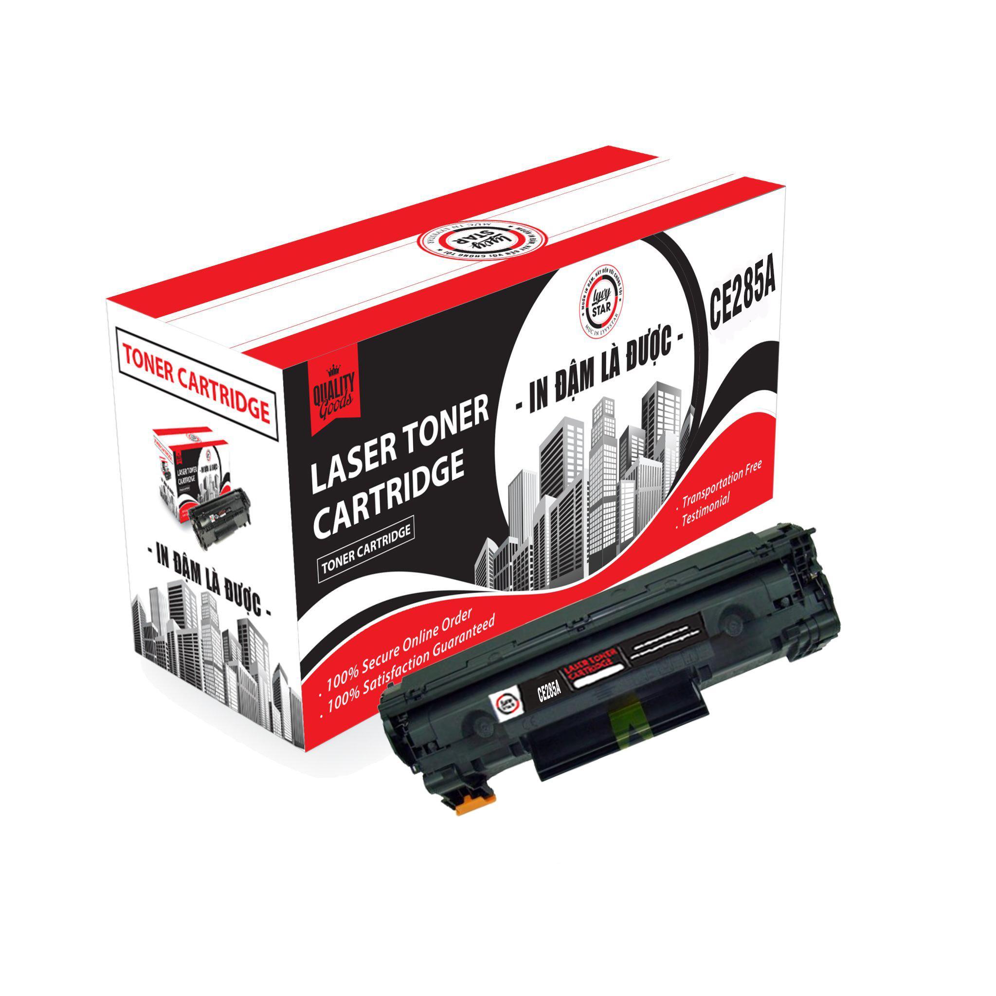 Hộp mực Lyvystar cartridge Estar CE285A dùng cho máy in - Hàng Chính Hãng