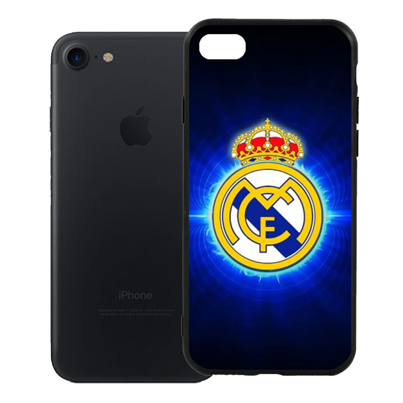 Ốp Lưng Viền TPU Cao Cấp Dành Cho iPhone 7 - Clb Real Madrid 01