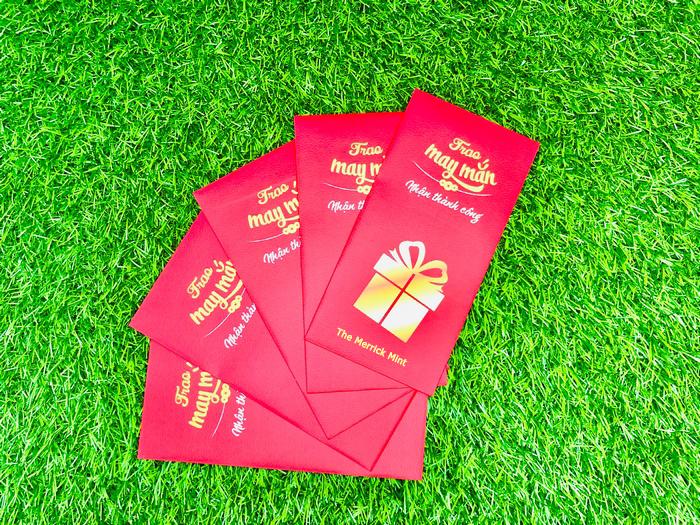 Combo 4 tờ tiền cổ Việt Nam 10 20 50 xu 1 đồng - tặng kèm bao lì xì - The Merrick Mint