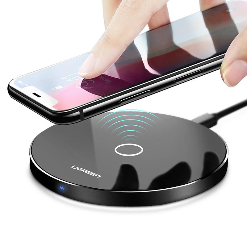 Sạc nhanh QC2.0 không dây hỗ trợ dòng điện thoại SamSung NOTE5/S5/S6 UGREEN CD134 30570 - Hàng Chính Hãng