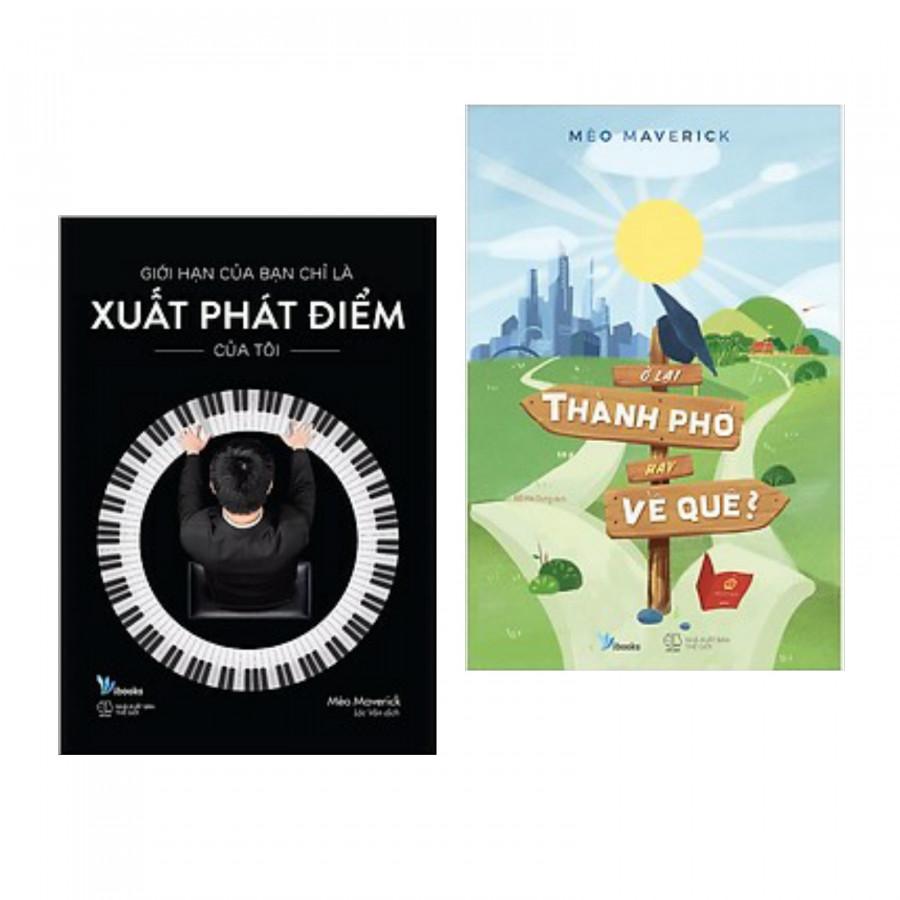 Combo Bộ 2 Cuốn Kỹ Năng Sống Đẹp: Giới Hạn Của Bạn Chỉ Là Xuất Phát Điểm Của Tôi + Ở Lại Thành Phố Hay Về Quê? (Tặng kèm Bookmark Phương Đông Books)