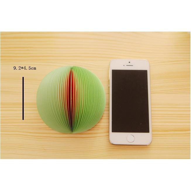 Giấy ghi chú trái cây JC01 (Giao mẫu ngẫu nhiên)