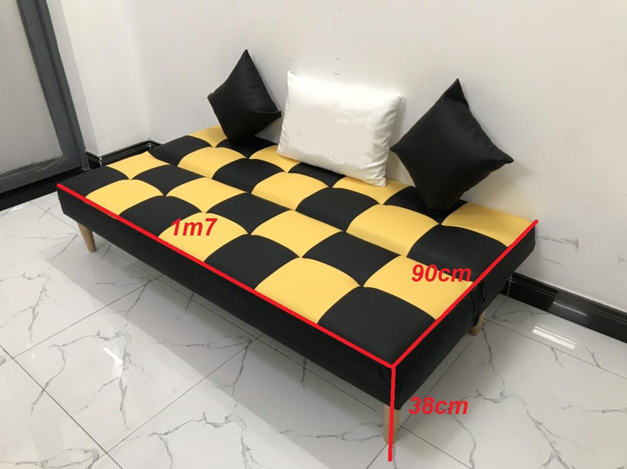 Bộ ghế sofa bed sofa giường 1m7x90 sofa phòng khách, salon, linco18 sa lông, sô pha