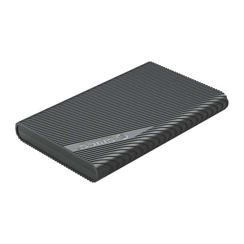"""Hộp Đựng Ổ Cứng ORICO 2521U3 (Đen) 2.5"""" SSD/HDD SATA 3 USB 3.0 - Hàng Chính Hãng"""