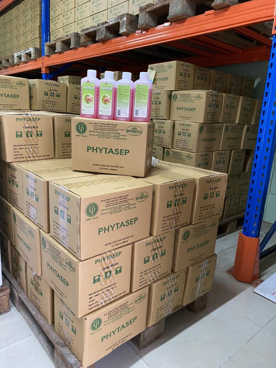 Dung dịch rửa tay sát khuẩn Phytasep 500ml