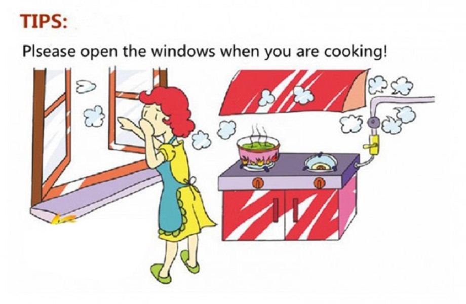 Thiết bị báo rò rỉ gas nhà bếp