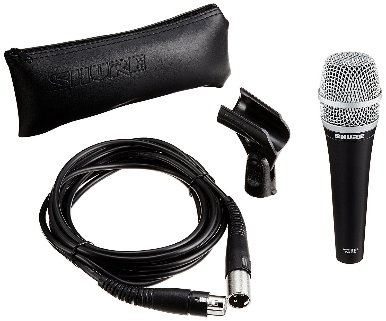 Micro Shure PGA58-XLR - Hàng chính hãng - Micro karaoke và thu âm chuyên nghiệp cho chất lượng âm thanh tuyệt vời