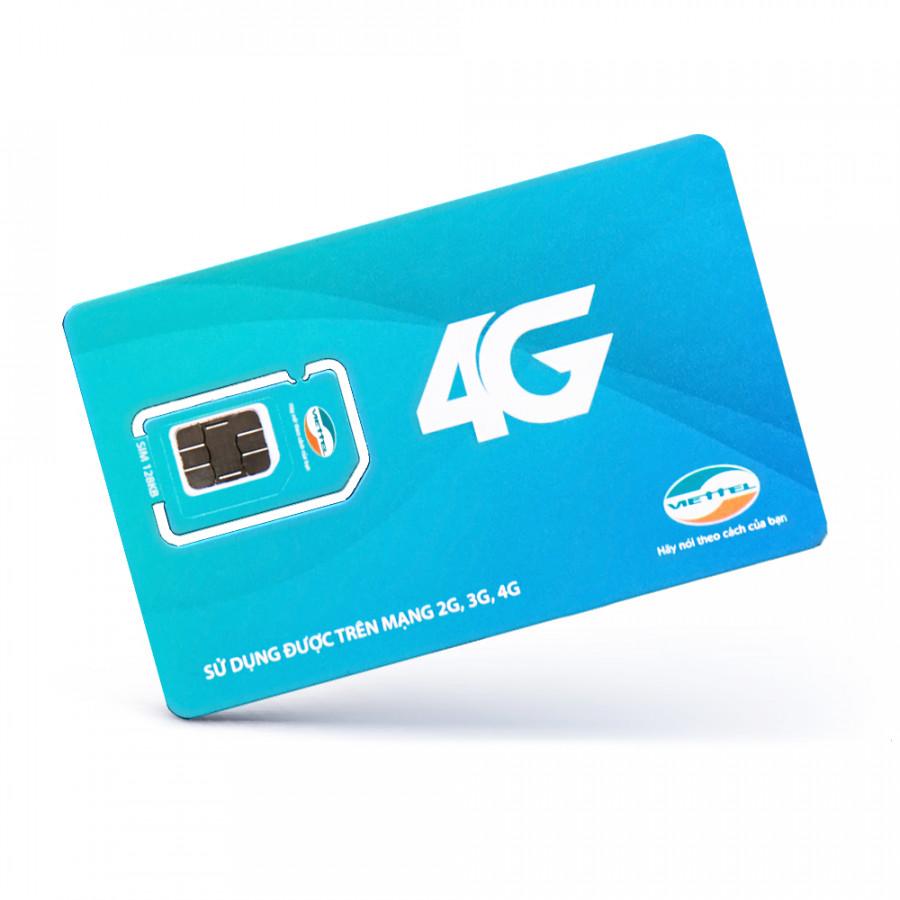 SIM 4G Viettel D500 Trọn Gói 1 Năm Không Nạp Tiền ( 4GB x 12 tháng)