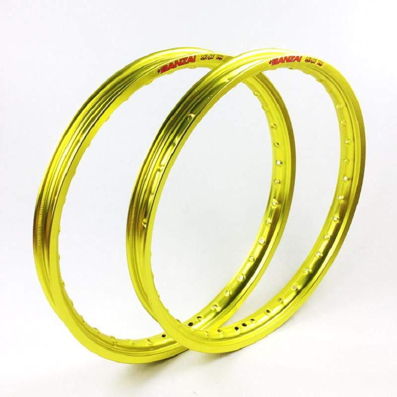 Bộ niềng dành cho tất cả dòng xe số (màu vàng)