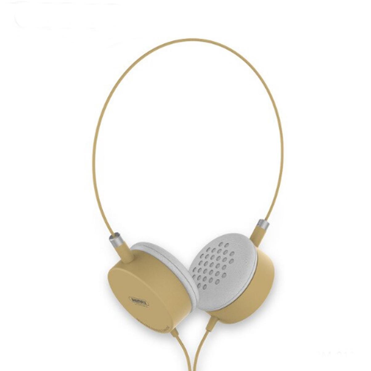 Combo Tai Nghe Headphone Có Dây Tai Nghe  Remax RM-910 + Tặng Kèm 01 Dây Đeo ĐT - Hàng Chính Hãng