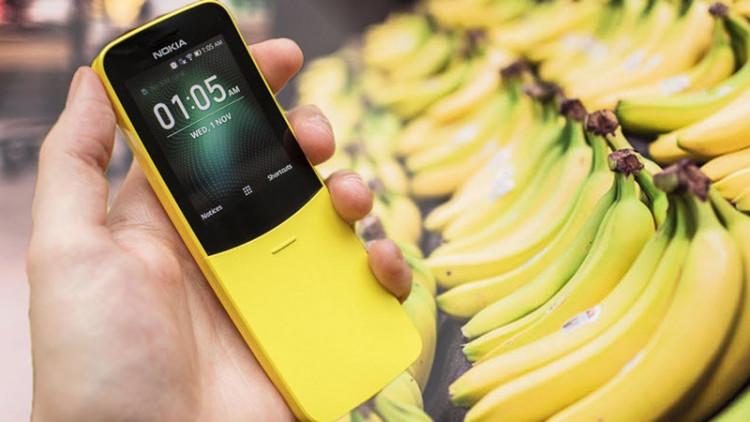 Sử dụng điện thoại Nokia 8110 4G