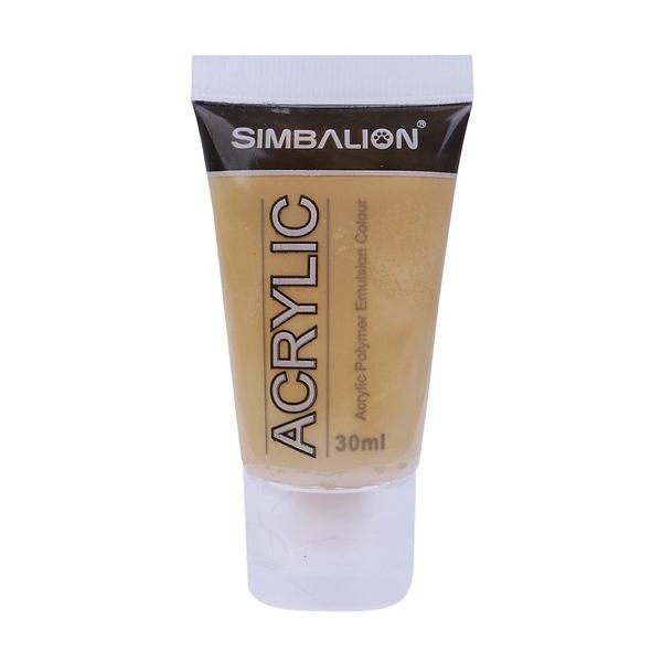 Màu Vẽ Simbalion Acrylic 30ml NAC30 - 26 - Vàng Xám