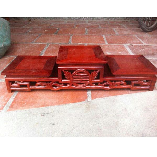 Tam sơn thủng gỗ hương ( ngang 20 x dài 70cm )