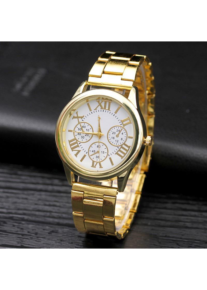 Đồng hồ nam nữ thời trang cao cấp geneva lịch lãm DH98