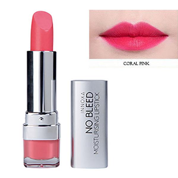 Son Lì Dưỡng Chất Chống Oxi Hóa Giảm Thâm Môi No Bleed Lipstick Innoxa Úc 2