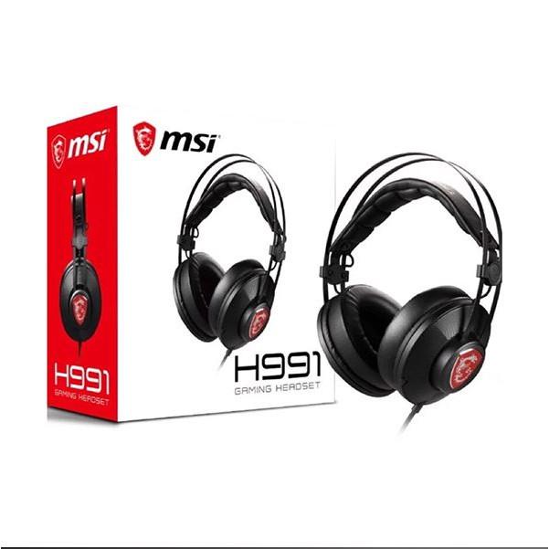 Tai nghe MSI gaming H991 - Hàng chính hãng