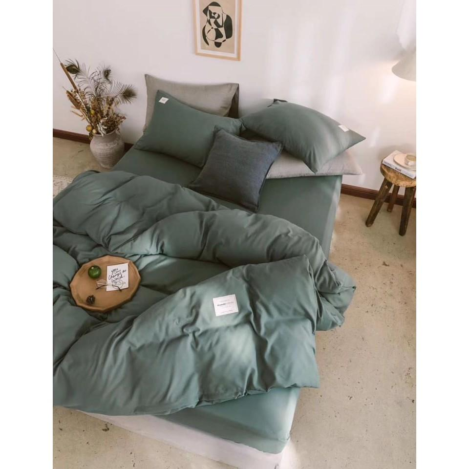 Bộ chăn ga 4 món cotton Tici cao cấp đủ size nhiều mẫu (không kèm ruột) TCA6