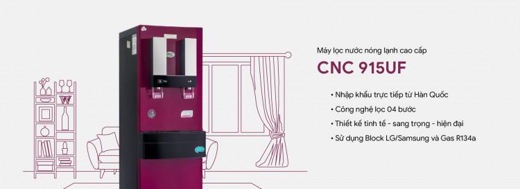 Máy lọc nước nóng lạnh CNC915UF